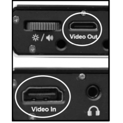 HDMI Splitter for Television Viewing inside the Jordy